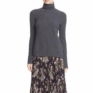 ALC Pippa Surplice Wool Cashmere Knit Sweater